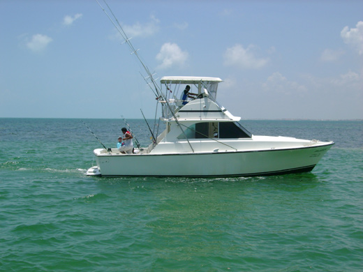 Party Boat Cancun Shared Fishing Trips