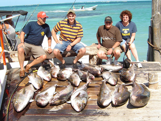 Private Fishing Charters in Cancun Mexico