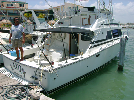 The Kayom - 33ft Offshore Fishing Yacht